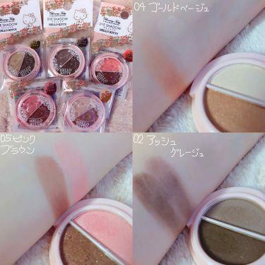 Blooming Kitty アイシャドウ/DAISO/パウダーアイシャドウを使ったクチコミ(2枚目)