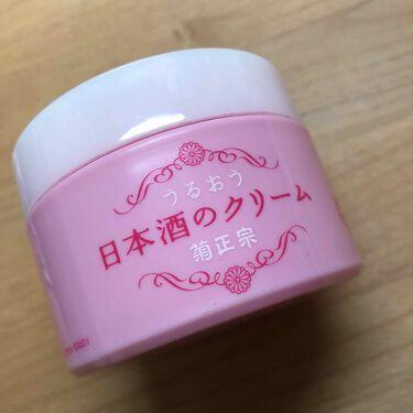 日本酒のクリーム/菊正宗/ボディクリームを使ったクチコミ(1枚目)