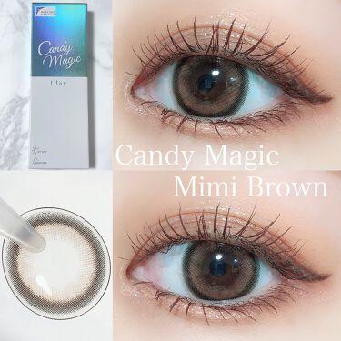 candymagic1day(キャンディーマジックワンデー)/candy magic/カラーコンタクトレンズを使ったクチコミ(1枚目)