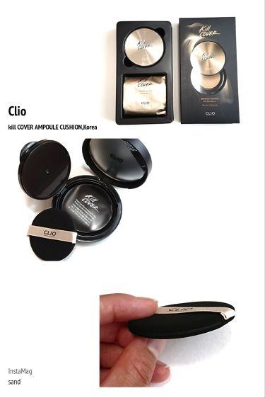 キルカバー アンプルクッション/CLIO/その他ファンデーションを使ったクチコミ(1枚目)