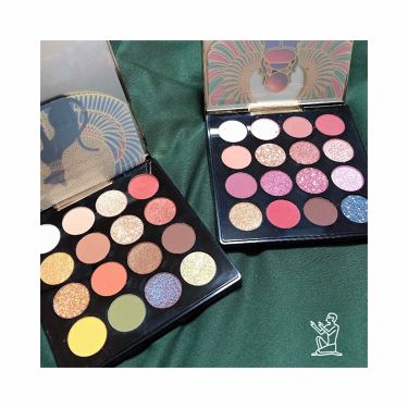 ZEESEA × 大英博物館 16 Colors Eyeshadow Tray