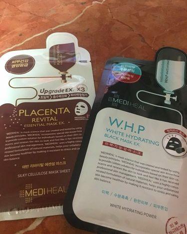 miさんの「MEDIHEAL(メディヒール)W.H.P ホワイトハイドレーティング ブラックマスクEX.<シートマスク・パック>」を含むクチコミ