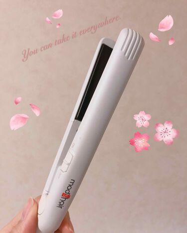 スタイリッシュ モバイルヘアアイロン MHS-0840/mod's hair(美容家電)/ヘアケア美容家電を使ったクチコミ(1枚目)