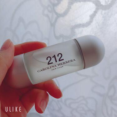 212 オーデトワレ/キャロライナ ヘレラ(海外)/香水(レディース)を使ったクチコミ(1枚目)