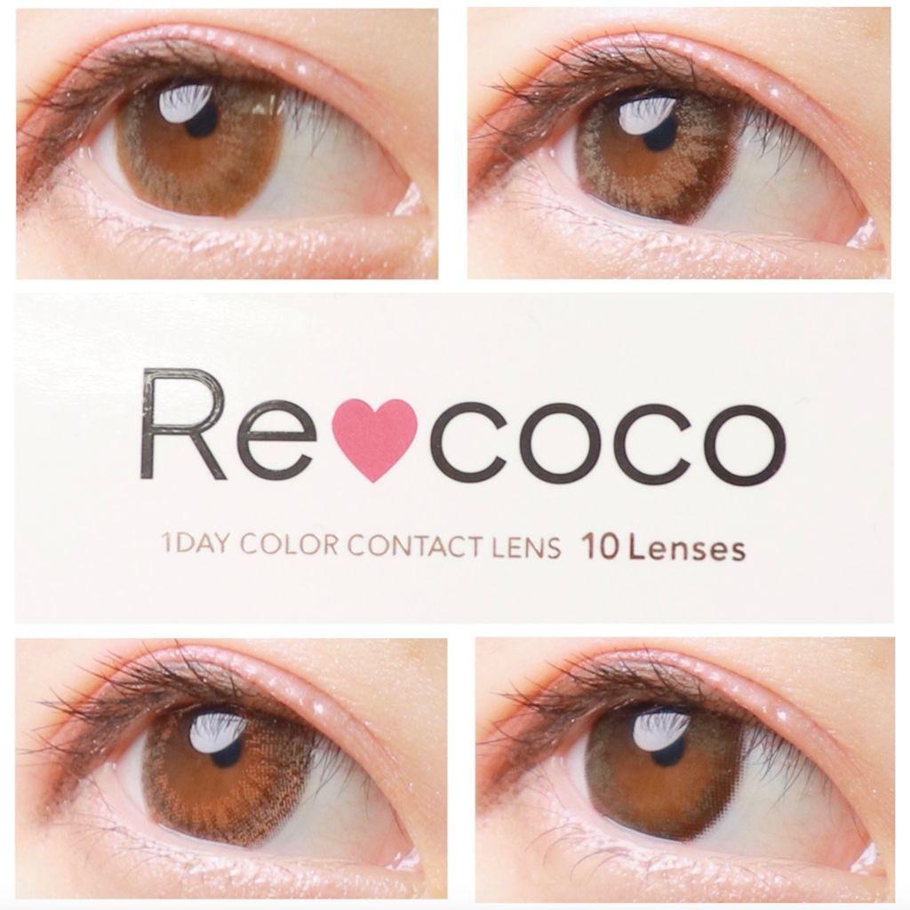 瞳も気分で変えるのが私流♡Recocoのカラコンでファッションを楽しみたい!