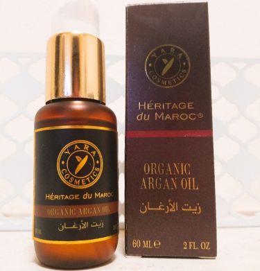 モロッコ100%オーガニック アルガンオイル/Natural Majesty/フェイスオイル・バームを使ったクチコミ(1枚目)