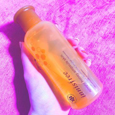 ジンジャー ハニー アンプル スキン/イニスフリー/化粧水を使ったクチコミ(2枚目)