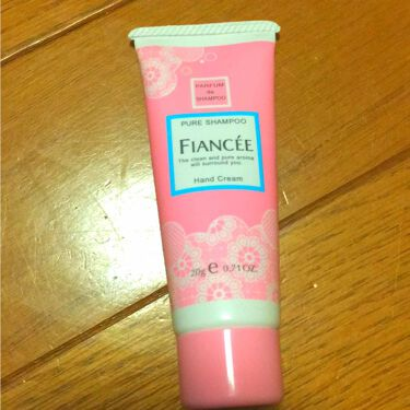 ゆっちろ🐻さんの「フィアンセハンドクリーム ピュアシャンプーの香り<ハンドクリーム・ケア>」を含むクチコミ