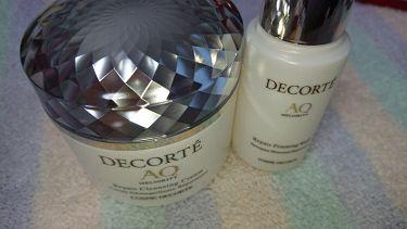 AQ ミリオリティ リペア クレンジングクリーム/COSME  DECORTE/クレンジングクリームを使ったクチコミ(2枚目)
