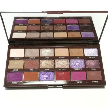 Violet Chocolate Palette/MAKEUP REVOLUTION/パウダーアイシャドウを使ったクチコミ(3枚目)