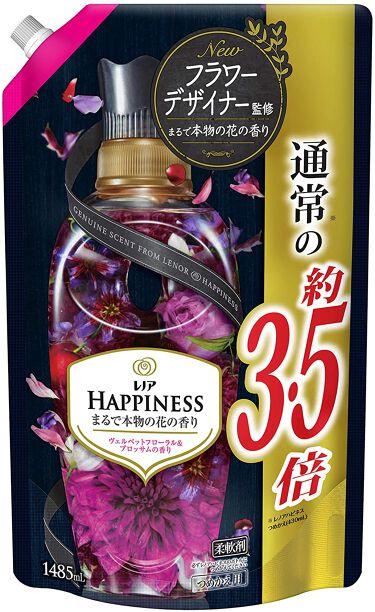 レノアハピネス ヴェルベットフローラル&ブロッサムの香り つめかえ1485ml
