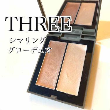 シマリング グロー デュオ/THREE/ジェル・クリームチーク by misaki