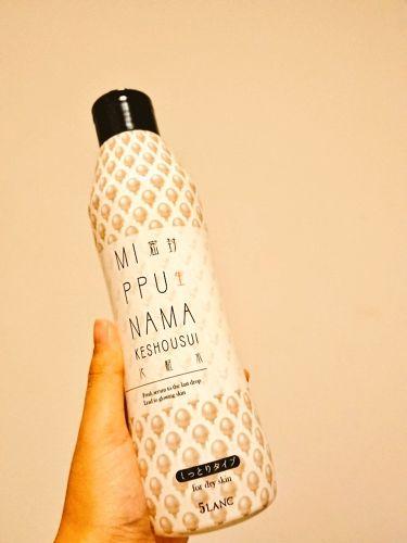 ファイブランク 密封生化粧水 しっとりタイプ/5LANC/化粧水を使ったクチコミ(1枚目)