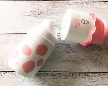 MILK BUBBLE ESSENCE PACK #PLAIN/G9 SKIN/美容液を使ったクチコミ(2枚目)