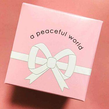 LOVE ソリッドパフューム/a peaceful world/香水(レディース)を使ったクチコミ(1枚目)