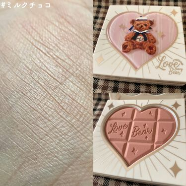 Love Bear ブラッシュ/FlowerKnows/パウダーチークを使ったクチコミ(7枚目)
