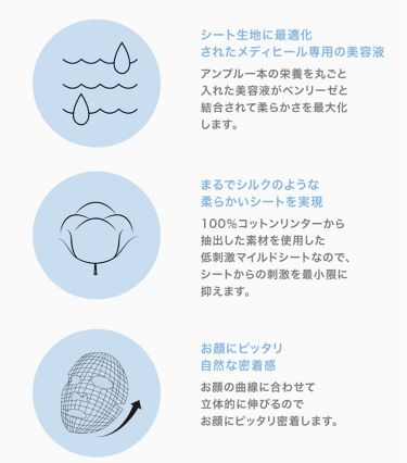 N.M.FアクアアンプルマスクJEX/MEDIHEAL(メディヒール)/シートマスク・パックを使ったクチコミ(2枚目)