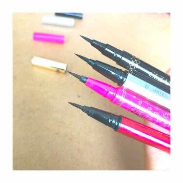 ラスティンファインa 筆ペンリキッド/デジャヴュ/リキッドアイライナーを使ったクチコミ(2枚目)