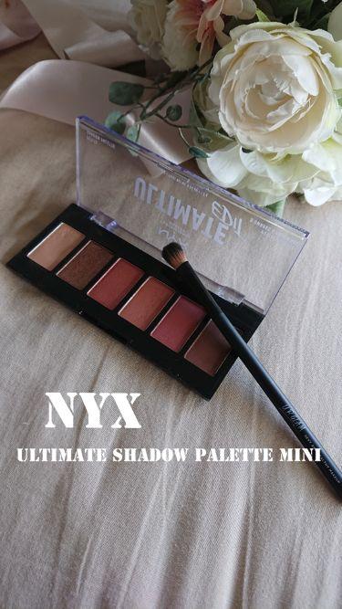NYX ULTIMATE EDIT/NYX Professional Makeup/パウダーアイシャドウを使ったクチコミ(1枚目)