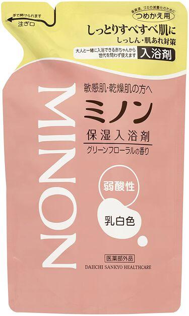 ミノン薬用保湿入浴剤 詰替え用 400ml