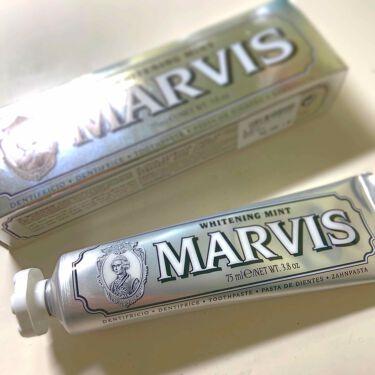 マービス/マービス/歯磨き粉を使ったクチコミ(1枚目)