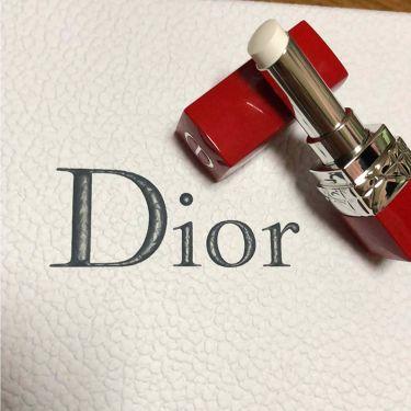 ルージュ ディオール ウルトラ ルージュ/Dior/口紅を使ったクチコミ(3枚目)
