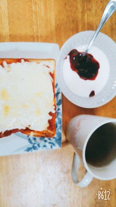 あぁや♪ on LIPS 「朝食作りの後からの#1日ルーティーン①朝食(毎日)前回登場した..」(1枚目)