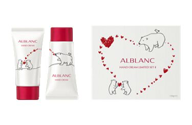 2021/9/11発売 ALBLANC 薬用 美白ハンドクリーム リミテッドセットⅡ