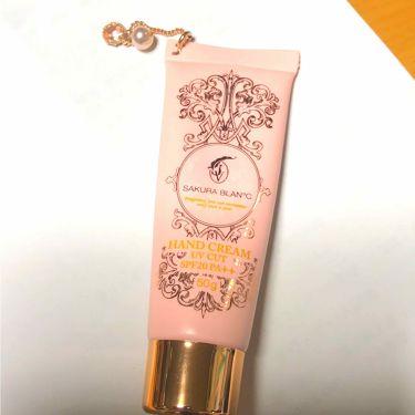 フレグランス UV CUT ハンドクリーム/SAKURA BLAN℃(サクラブラン)/ハンドクリーム・ケアを使ったクチコミ(1枚目)