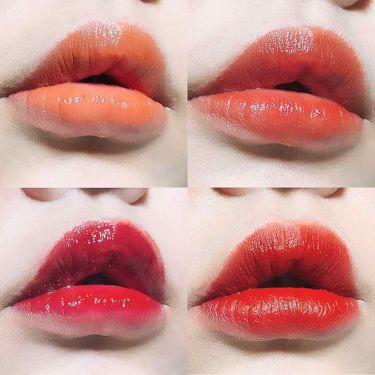 ディア マイエナメル リップトーク/エチュードハウス/口紅を使ったクチコミ(2枚目)