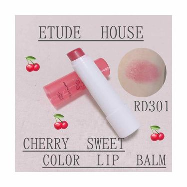 トモナ♪さんの「ETUDE HOUSEチェリースイート カラーリップバーム<口紅>」を含むクチコミ