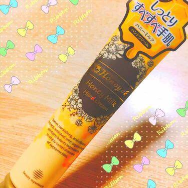 ハニーミルク ハンドクリーム/Honeyce'(ハニーチェ)/ハンドクリーム・ケア by ぴんく🎀💕