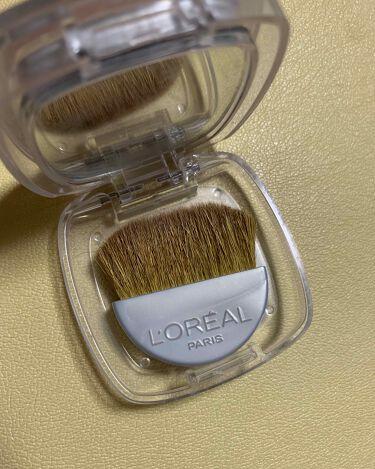 【画像付きクチコミ】#ロレアルパリ#ルーセントマジックパウダーブラッシュ#P3ネクターローズ1200円一年以上前に購入した商品ですが、最近は毎日使用しています😍ブラシと鏡がついていますがあまり使っていません👾URGLAMのブラシで付けています✨匂いは美容...