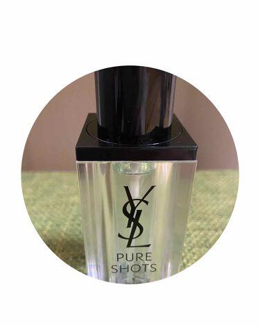 ピュアショット ナイトセラム/YVES SAINT LAURENT BEAUTE/美容液を使ったクチコミ(2枚目)