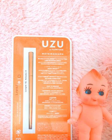 MOTE MASCARA COLOR/UZU BY FLOWFUSHI/マスカラを使ったクチコミ(1枚目)