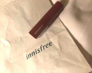 ビビッドコットン インクティント/innisfree/口紅を使ったクチコミ(1枚目)