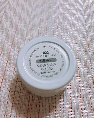 super shock shadow/ColourPop(カラーポップ)/パウダーアイシャドウを使ったクチコミ(2枚目)