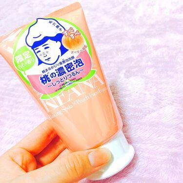 桃まるかじり重曹泡洗顔/毛穴撫子/洗顔フォームを使ったクチコミ(1枚目)