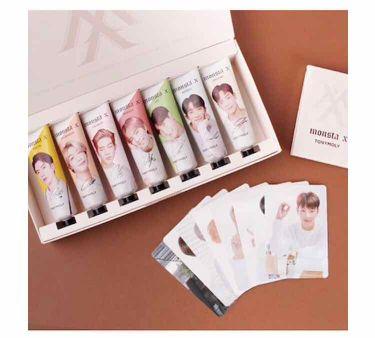 DRE/Wさんの「TONYMOLY(トニーモリー/韓国)tonymoly ×monsta x IM hand cream<ハンドクリーム・ケア>」を含むクチコミ