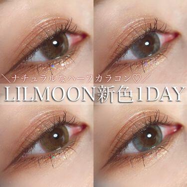 LIL MOON 1DAY/LIL MOON/カラーコンタクトレンズを使ったクチコミ(1枚目)