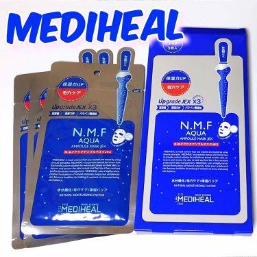すもも。さんの「MEDIHEAL(メディヒール)N.M.FアクアアンプルマスクJEX<シートマスク・パック>」を含むクチコミ