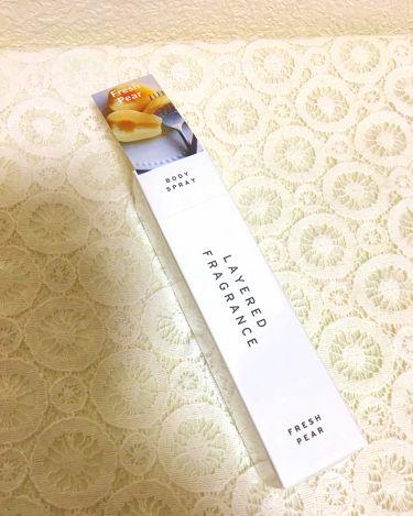 レイヤードフレグランス ボディースプレー/レイヤードフレグランス/香水(その他)を使ったクチコミ(1枚目)