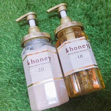 ディープモイスト シャンプー1.0/ヘアトリートメント2.0/&honey/シャンプー・コンディショナー by 高野豆腐