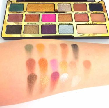 Chocolate Bar Eyeshadow Palette/Too Faced(海外)/パウダーアイシャドウを使ったクチコミ(2枚目)