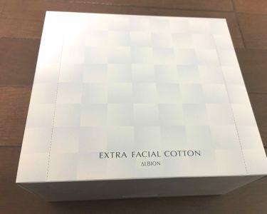 エクストラ フェイシャルコットン/ALBION/コットンを使ったクチコミ(1枚目)
