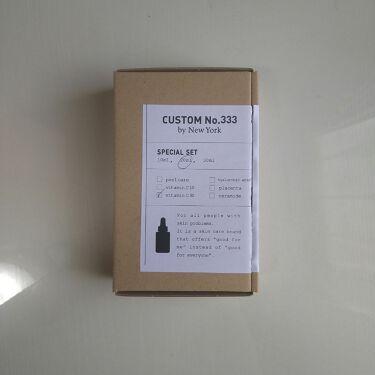 最高濃度 VC-30/CUSTOM No.333 by New York/美容液を使ったクチコミ(2枚目)