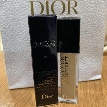 【画像付きクチコミ】はじめまして!初投稿です^^Diorのコンシーラーの口コミがすごく良かったので買ってみました🌟私は1Nで標準より少し明るい色味です!すごく肌馴染みがよかったです!内容量がとても多いのでファンデ代わりにもなるのでオススメです🥺#一軍コス...