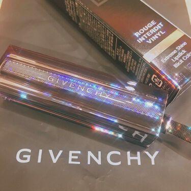 ルージュ・アンテルディ・テンプテーション/GIVENCHY/口紅を使ったクチコミ(1枚目)