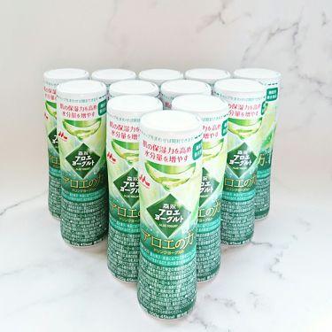 森永アロエヨーグルト アロエの力/森永乳業/ドリンクを使ったクチコミ(1枚目)