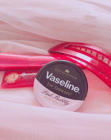 ヴァセリン Vaseline Lip Therapy Pink Bubbley